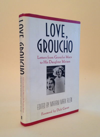 Love, Groucho: Letters from Groucho Marx to His Daughter Miriam, Allen, Miriam Marx