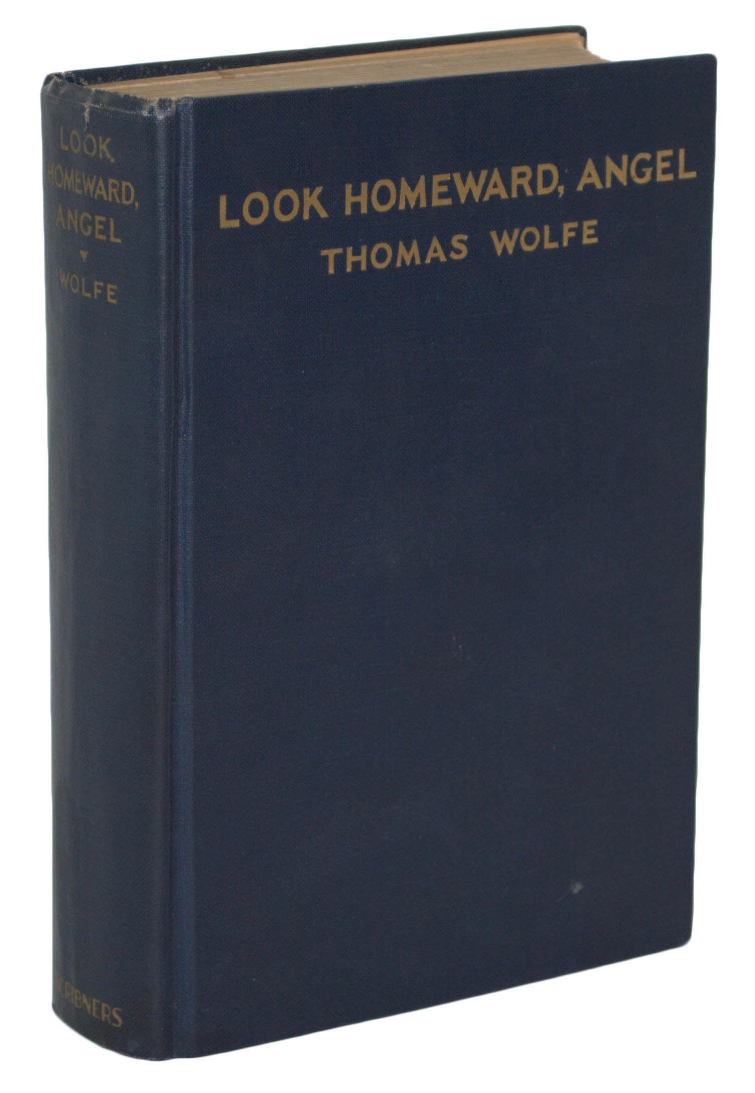 book review of look homeward angel