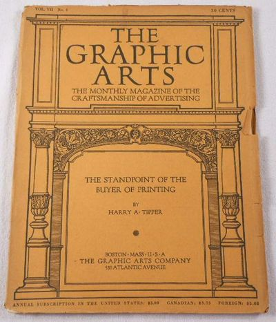 The Graphic Arts. Volume VII, Number 4, October 1914. Magazine, Graphic Arts. Henry Lewis Johnson, Editor