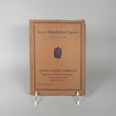 Image for Kuro Nakaboban Papers. Made by hand in Japan. [Trade catalog.]