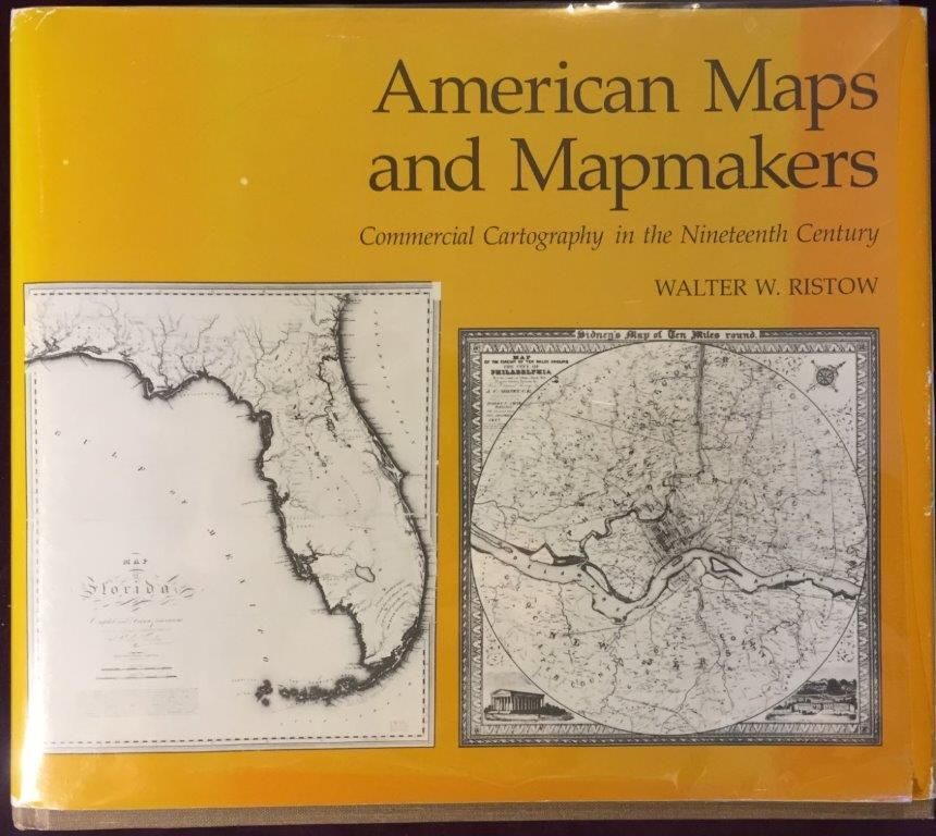 Image for American Maps and Mapmakers: Commercial Cartography in the Nineteenth Century.