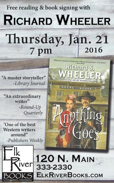 Richard Wheeler Poster, 21 January 2016, Wheeler, Richard