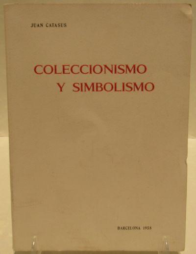 Image for Coleccionismo y Simbolismo