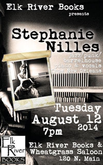 Stephanie Nilles Concert Poster, 12 August 2014, Nilles, Stephanie