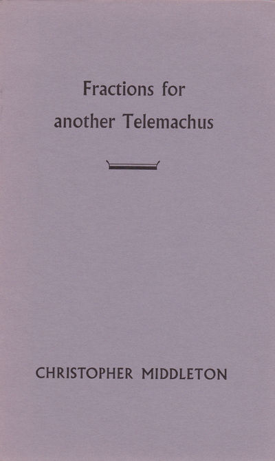 Image for FRACTIONS FOR ANOTHER TELEMACHUS