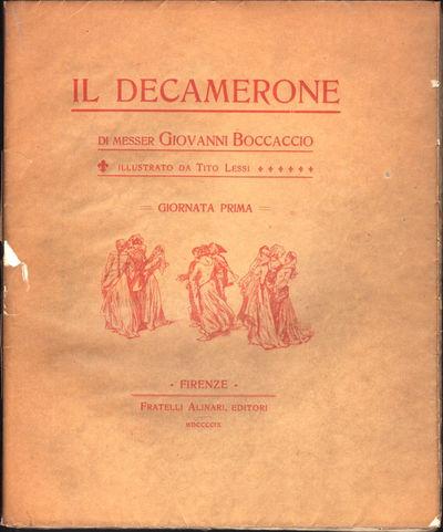 Image for Il Decamerone di Messer Giovanni Boccaccio [in ten parts] 10 Volumes