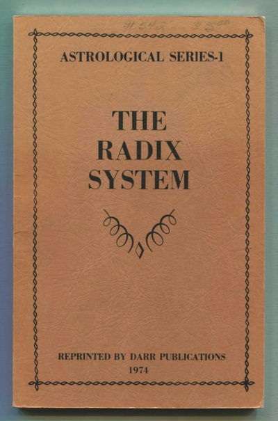 The Radix System, Robson, Vivian E.
