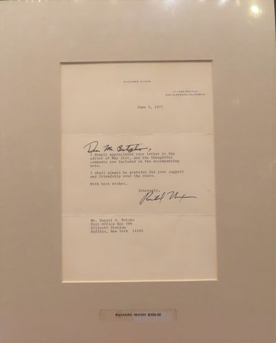 Image for Typed Letter Signed