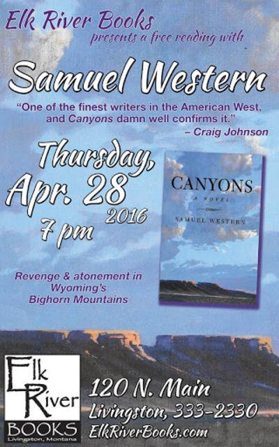 Samuel Western Poster, 28 April 2016, Western, Samuel