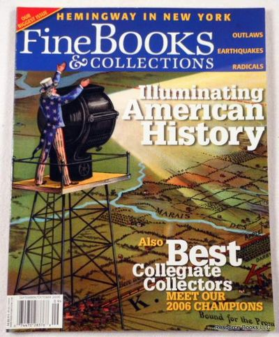 Fine Books & Collections.  September/October 2006.  No. 23 (Vol. 4, No. 5), Fine Books & Collections Magazine