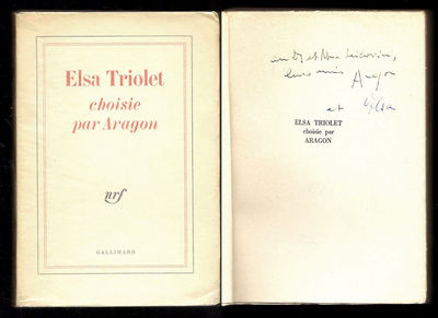 Vialibri 165078 rare books from 1960 for Elsa au miroir aragon