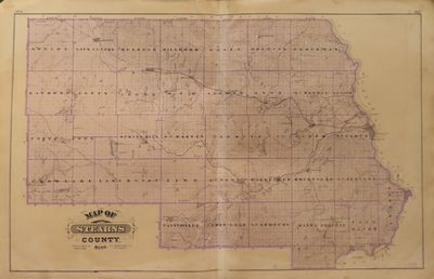 Image for Map of Stearns County 1874 - from Illustrated Historical Atlas of the  State of Minnesota