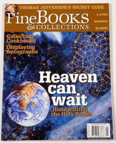 Fine Books & Collections.  January/February 2007.  No. 25 (Vol. 5, No. 1), Fine Books & Collections Magazine