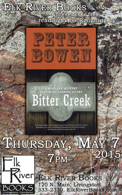 Peter Bowen Poster, 07 May 2015, Bowen, Peter