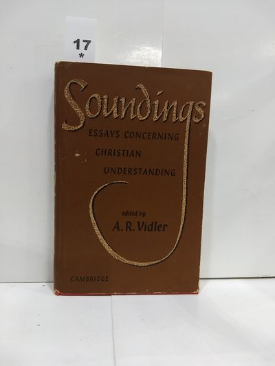 Image for Soundings: Essays Concerning Christian Understanding