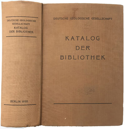 Image for Katalog der Bibliothek. Deutsche Geologische Gesellschaft.