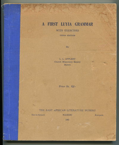 A First Luyia Grammar with Excercises, Appleby, L.L.