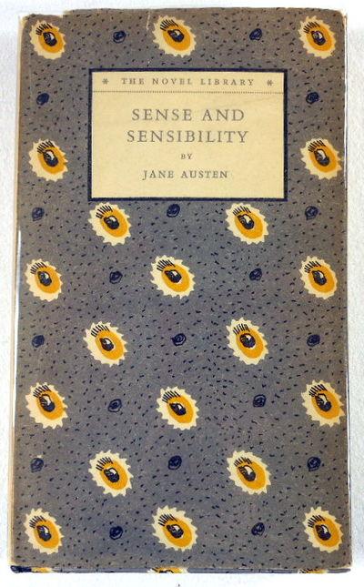 Sense and Sensibility. The Novel Library No. 31, Austen, Jane