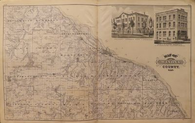 Image for Map of Winona County 1874 - Illustrated Historical Atlas of the State of  Minnesota
