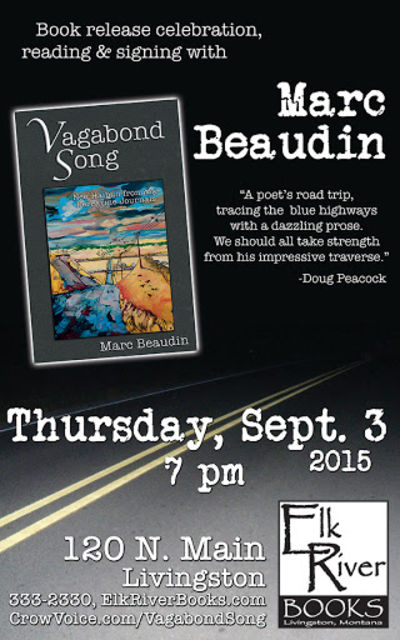 Marc Beaudin Poster, 03 September 2015, Beaudin, Marc