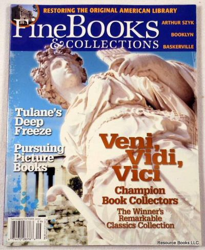 Fine Books & Collections.  September/October 2007.  No. 29 (Vol. 5, No. 5), Fine Books & Collections Magazine