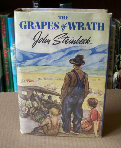 the motif of tractors in the grapes of wrath by john steinbeck Motif improvised leadership structures trucks, or tractors john steinbeck's the grapes of wrath -.