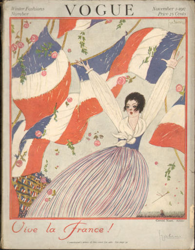 Image for Vogue November 1st, 1917.  Winter Fashions Number.  (Magazine) Vive la  France!