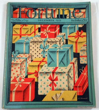 Fortune Magazine.  December 1933 - Volume VII, Number 12, Fortune Magazine.  Edited By Henry Luce
