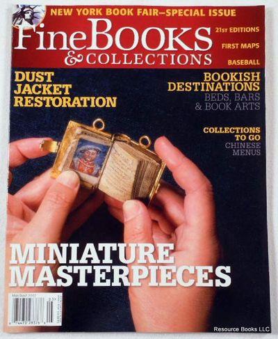 Fine Books & Collections.  May/June 2007.  No. 27 (Vol. 5, No. 3), Fine Books & Collections Magazine