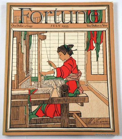 Fortune Magazine.  July 1933 - Volume VII, Number 7, Fortune Magazine.  Edited By Henry Luce
