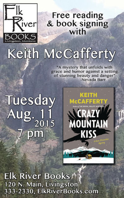 Keith McCafferty Poster, 11 August 2015, McCafferty, Keith