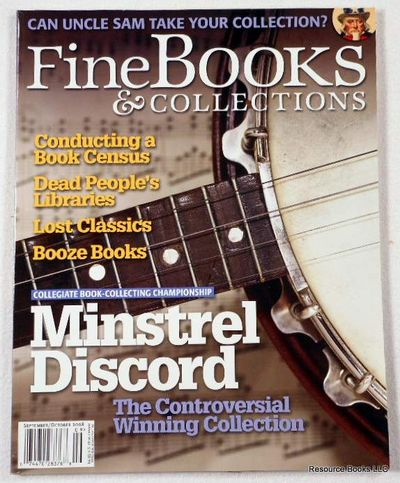 Fine Books & Collections.  September/October 2008.  No. 35 (Vol. 6, No. 5), Fine Books & Collections Magazine
