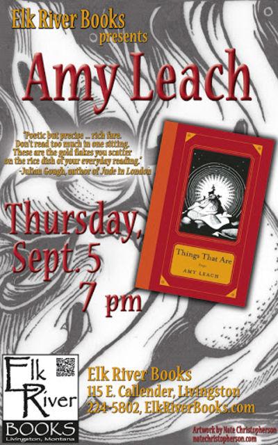 Amy Leach Poster, 05 September 2013, Leach, Amy