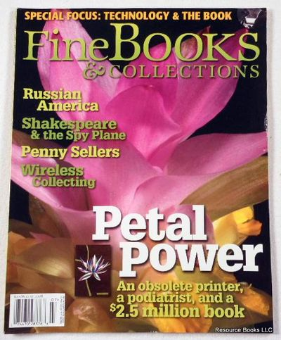 Fine Books & Collections.  July/August 2008.  No. 34 (Vol. 6, No. 4), Fine Books & Collections Magazine