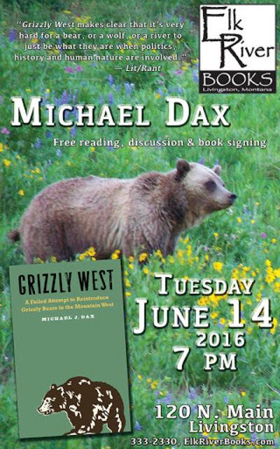 Michael Dax Poster, 14 June 2016, Dax, Michael