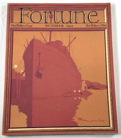 Fortune Magazine.  October 1933 - Volume VII, Number 10, Fortune Magazine.  Edited By Henry Luce