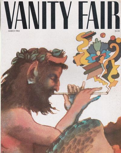 CHRONICLE OF A DEATH FORETOLD. (In Vanity Fair, Vol. 46, No. 1. March 1983)., (Botero, Fernando). Garcia Marquez, Gabriel.