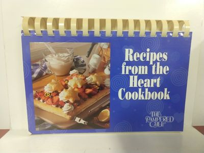 Recipes From The Heart Cookbook The Pampered Chef