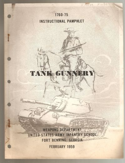 Tank Gunnery Instructional Pamphlet 1760-75