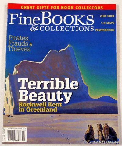 Fine Books & Collections.  November/December 2006.  No. 24 (Vol. 4, No. 5), Fine Books & Collections Magazine