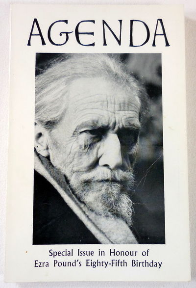 Image for Agenda: Special Issue in Honor of Ezra Pound's Eighty-Fifth Birthday. Vol. 8, Nos. 3-4. Autumn-Winter 1970