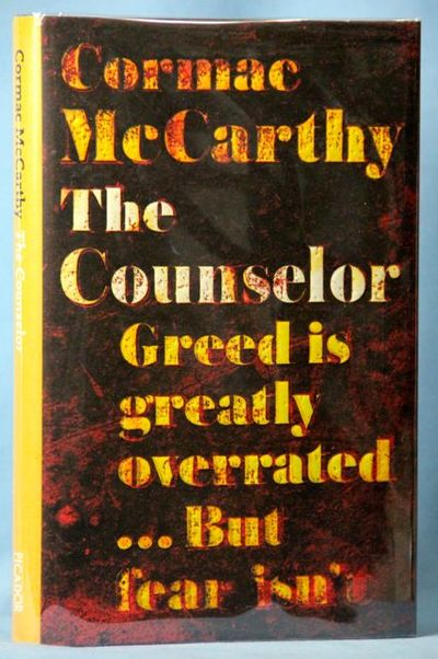 The Counselor, McCarthy, Cormac