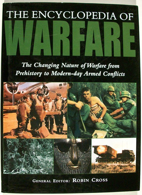 The encyclopedia of warfare by robin cross ed first for The new encyclopedia of home designs