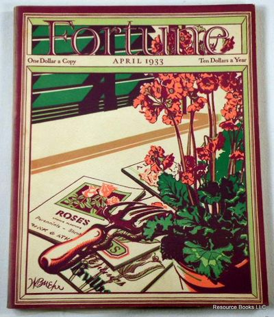 Fortune Magazine.  April 1933 - Volume VII, Number 4, Fortune Magazine.  Edited By Henry Luce
