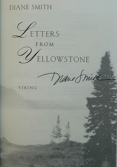 Letters from Yellowstone, Smith, Diane