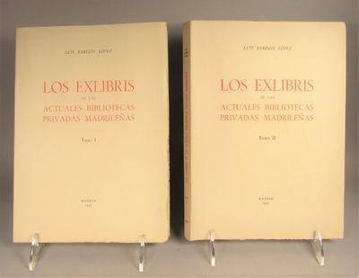 Image for Los Exlibris de las Actuales Bibliotecas Privadas Madrilenas