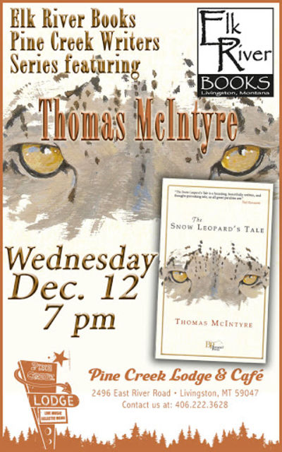 Thomas McIntyre Poster, 12 December 2012, McIntyre, Thomas