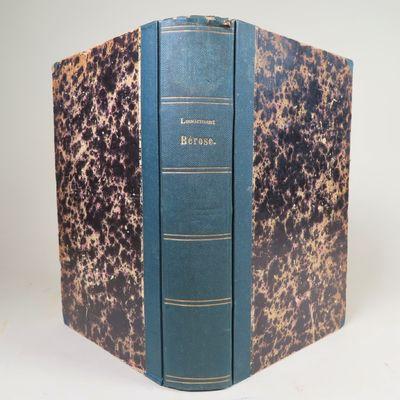 Image for Essai de Commentaire des Fragments Cosmogoniques de Berose : d'apres les Textes cuneiformes et les Monuments de l'art Asiatique.