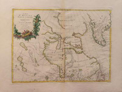 Image for La Baja d'Hudson Terra di Labrador e Groenlandia con le Isloe Adiacenti di nuova Projezione