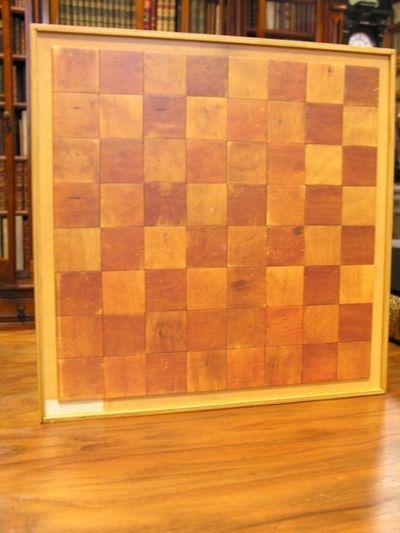 Wooden box with multiples.  Deluxe edition of the catalogue for the Marcel  Duchamp exhibition at Ronny Van de Velde, Antwerpen, September 15 -  December 15, 1991.